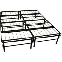 DuraBed Queen Foundation and Frame-in-One Steel Mattress Support Bed Frame