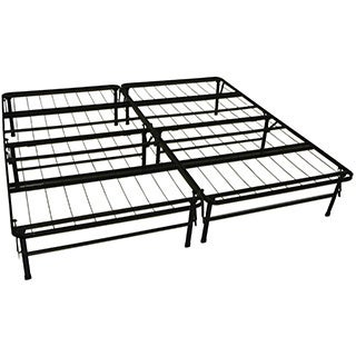 durabed king size heavy duty steel foundation frame in one mattress support system platform bed frame
