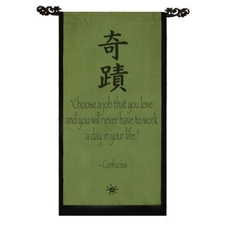 Confucius Banner Scroll (Indonesia)