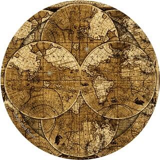 Thirstystone 'World Map' Sandstone Coasters (Set of 4)