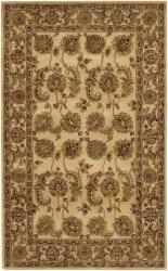 Artist's Loom Hand-tufted Traditional Oriental Wool Rug (5'x7'6) - Thumbnail 1