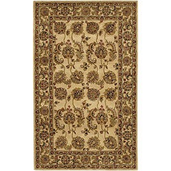 Artist's Loom Hand-tufted Traditional Oriental Wool Rug - 5' x 7'6 - Thumbnail 0