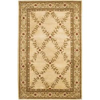 Artist's Loom Hand-tufted Traditional Oriental Wool Rug - 5' x 7'6