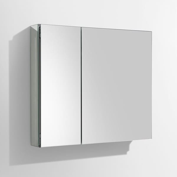Genial Fresca Medium Mirrored Medicine Cabinet