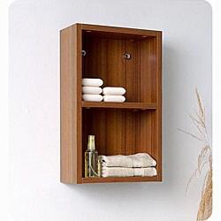 Fresca Open Storage Bathroom Linen Side Cabinet