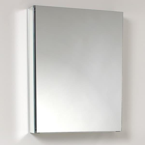 Fresca Small Bathroom Mirror Medicine Cabinet Free Shipping Today Overstock Com 13033896