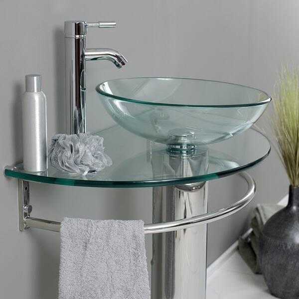 Fresca Attrazione Gl Stainless Steel Bathroom