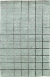 Artist's Loom Hand-knotted Contemporary Geometric Wool Rug (5'x7'6) - Thumbnail 1