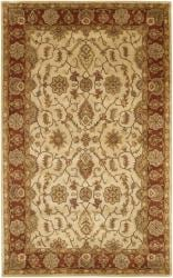 Artist's Loom Hand-tufted Traditional Oriental Wool Rug (5'x7'6) - Thumbnail 1