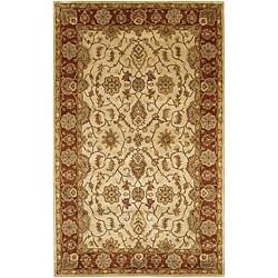 Artist's Loom Hand-tufted Traditional Oriental Wool Rug (5'x7'6)