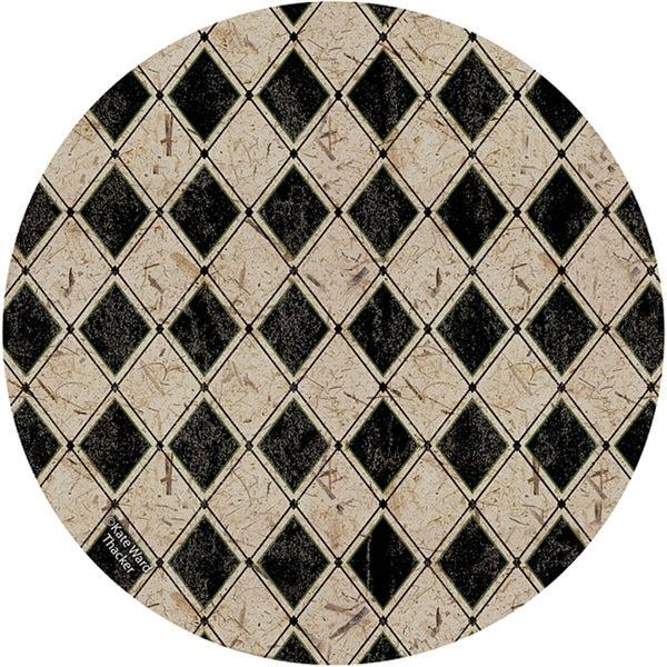 Thirstystone 'Diamonds' Sandstone Coasters (Set of 4)