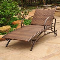 International Caravan Valencia Resin Wicker Multi-Position Chaise