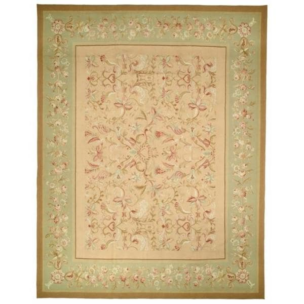 Shop Handmade Safavieh Couture French Aubusson Asian