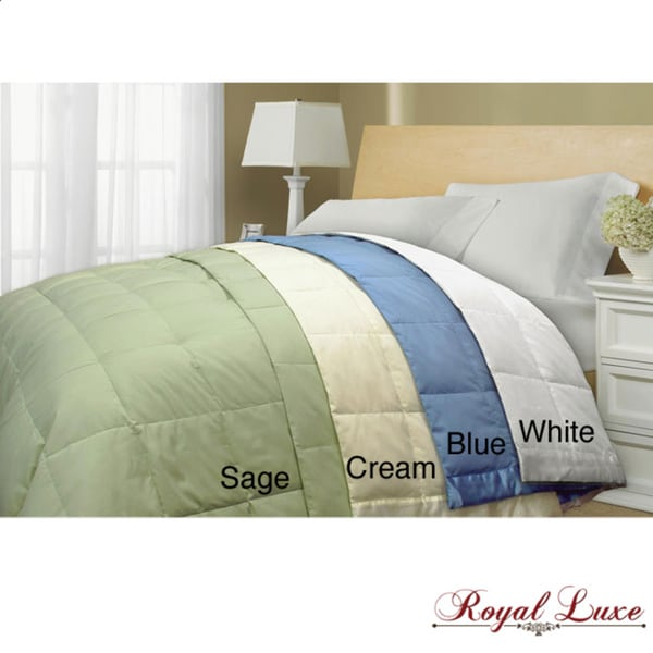 250 Thread Count Twin-size Down Blanket