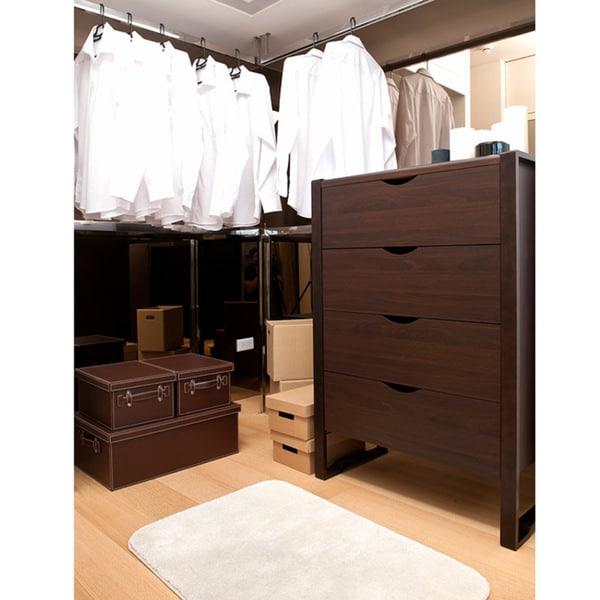 Furniture of America Cinzia Classic 4-Drawer Dresser