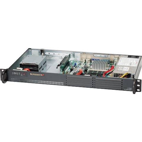 Supermicro SuperServer 5015A-EHF 1U Rack Server - 1 x Atom D510 - Serial ATA/300 Controller