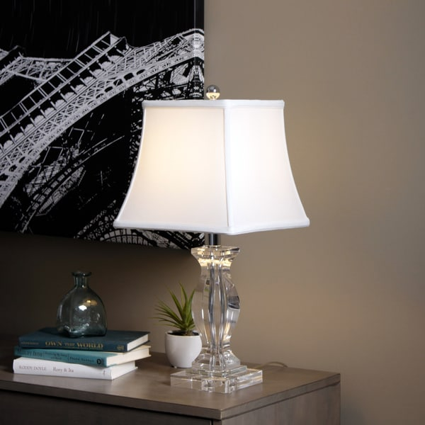 Turkis Crystal 3 Way Chrome Table Lamp Free Shipping Today Overstock 13037076