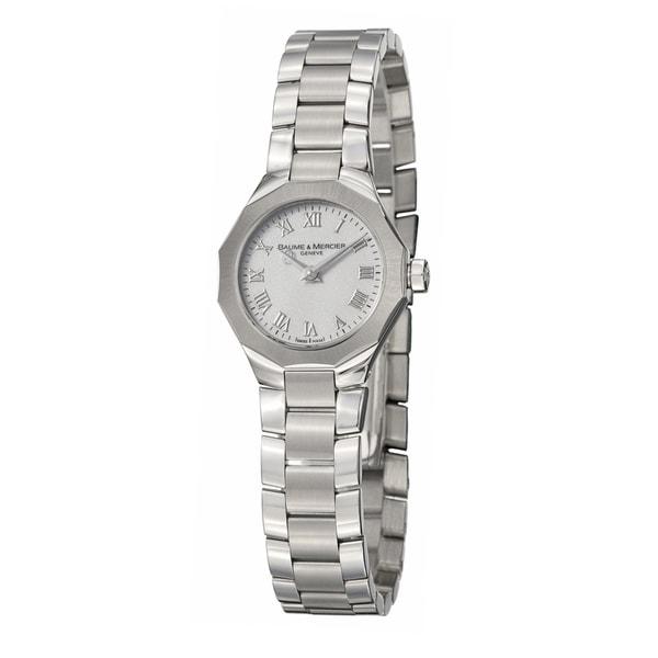 Baume & Mercier Women's 'Riviera' Stainless Steel Quartz Watch