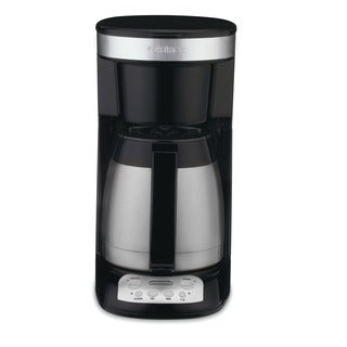 Cuisinart CBC-1600PCFR FlavorBrew Black Coffeemaker with 10-cup Thermal Carafe (Refurbished)