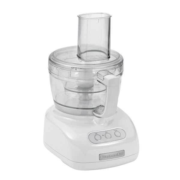 KitchenAid RKFP740WH White 9-cup Food Processor (Refurbished)