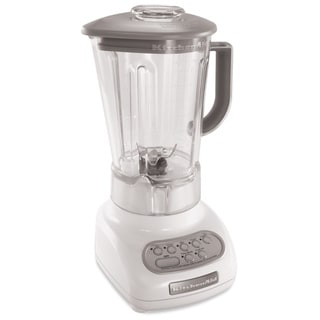 KitchenAid RKSB560WH White 5-Speed with 56-oz Polycarbonate Jar Blender (Refurbished)