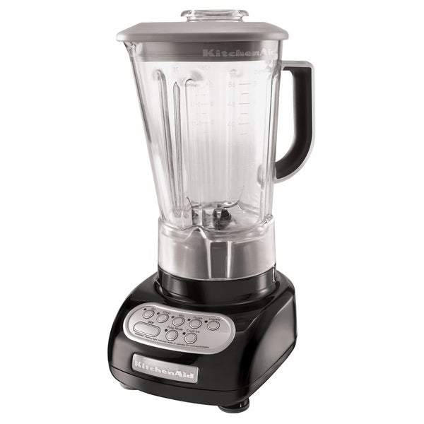 KitchenAid RKSB560OB Onyx Black 5-Speed with 56-oz Polycarbonate Jar Blender (Refurbished)