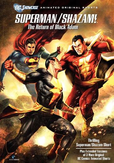 Superman/Shazam!: The Return of the Black Adam (DVD)