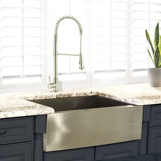 Stainless Steel 30 Inch Farmhouse Apron Sink