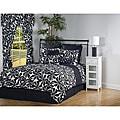 Swirl 9-piece Queen-size Comforter Set