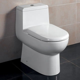 Fresca Antila One-Piece Dual Flush Toilet