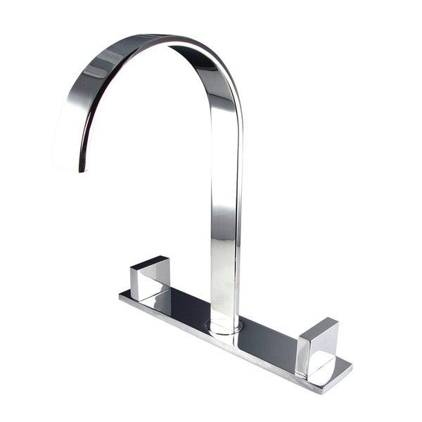 Fresca Sesia Wideset Mount Chrome Bathroom Faucet