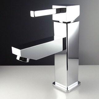 Fresca Bevera Single Hole Mount Chrome Vanity Faucet