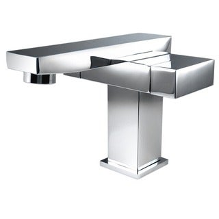 Fresca Orba Single Hole Mount Chrome Bathroom Faucet