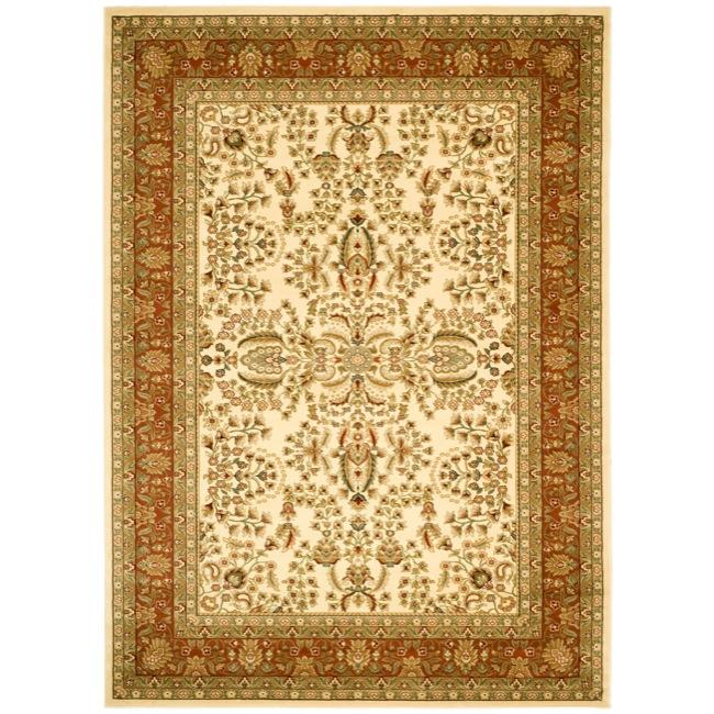 Safavieh Lyndhurst Traditional Oriental Ivory/ Rust Rug (6' x 9')
