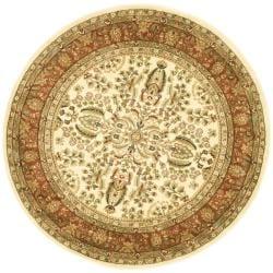 Safavieh Lyndhurst Traditional Oriental Ivory/ Rust Rug (8' Round)