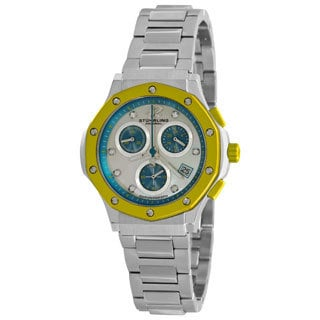 Stuhrling Original Women's Yellow Cosmo Lady Chronograph Watch