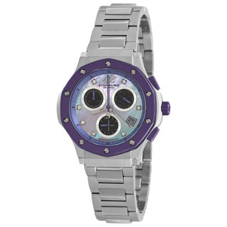 Stuhrling Original Women's Purple Cosmo Lady Chronograph Watch