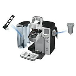 Cuisinart SS-700 Silver Single Serve Brewing System - Thumbnail 1