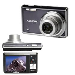 Olympus FE-4010 12MP Digital Camera with Deluxe Bonus Kit (Refurbished)