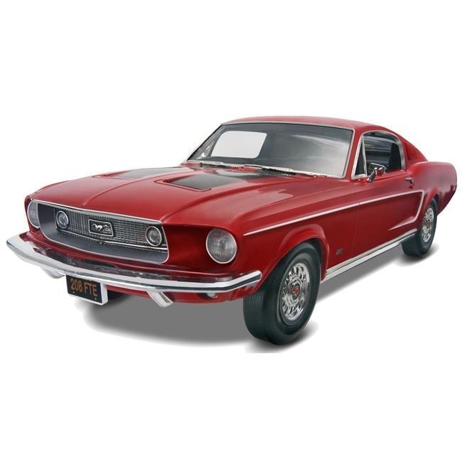 Revell 1:25 Scale 1968 Mustang GT 2 Plastic Model Kit
