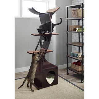 The Refined Feline's Lotus Color Cat Tower (2 options available)