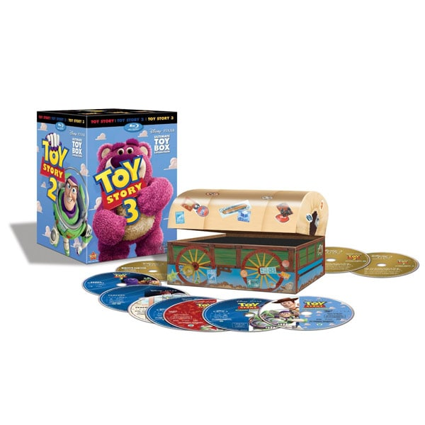 Toy Story Ultimate Toy Box Collection Trilogy (Blu-ray/DVD)