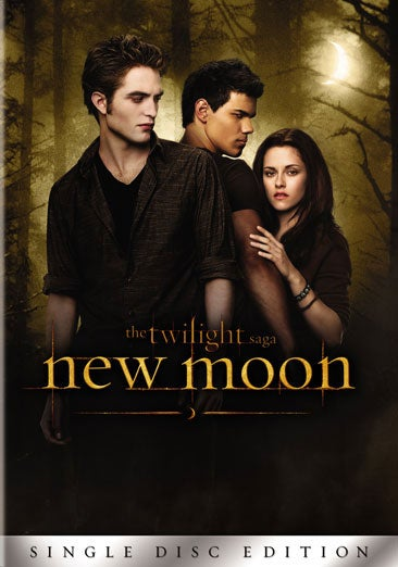The Twilight Saga: New Moon: Single Disc Edition (DVD)