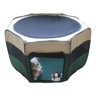 Go Pet Club Dog Pet Play Exercise Pen / Cage (40x40x21)