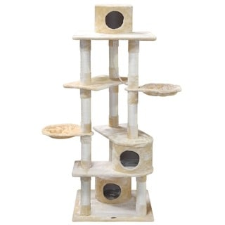 Go Pet Club Condo House Cat Tree Pet Furniture
