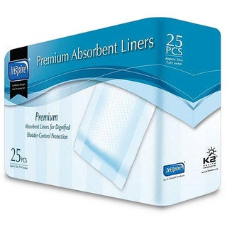 Inspire Premium 7x17-inch Absorbent Liners (Case of 250)