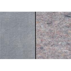 Deluxe Hard Surface and Carpet Rug Pad (6' x 9' Oval) - Thumbnail 2