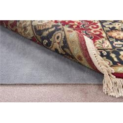 Deluxe Hard Surface and Carpet Rug Pad (8'x10' Oval) - Thumbnail 1