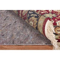 Deluxe Hard Surface and Carpet Rug Pad (8' x 10' Oval)
