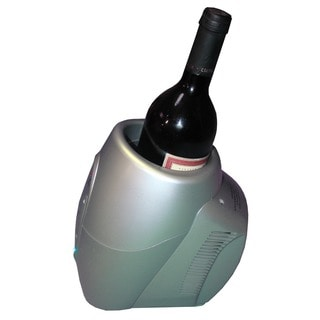 Element by Vinotemp VT-CHILLER SLVR Single Bottle Wine Chiller/ Warmer